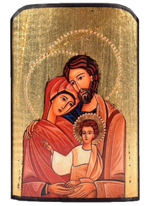 "Traveling Icon ""Holy Family"" - Christian Icons"