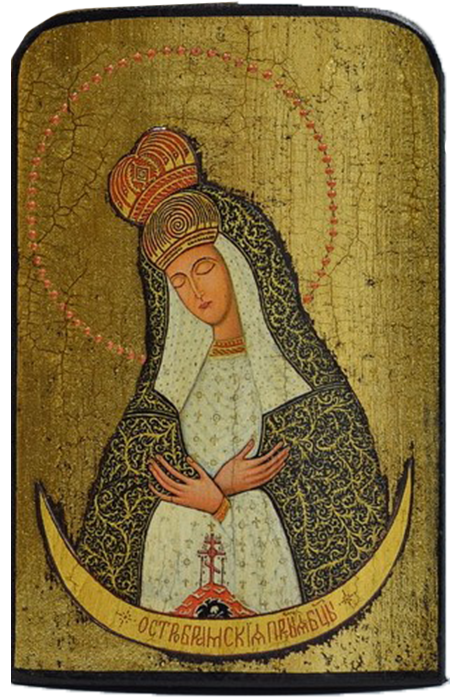 "Traveling Icon ""Our Lady of the Gate of Dawn"" - Christian Icons"