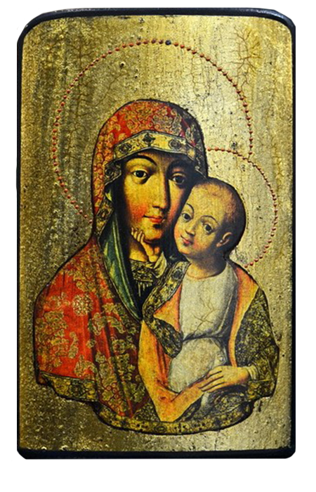 "Traveling Icon ""Our Lady of Tenderness"" - Christian Icons"
