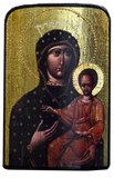 "Traveling Icon ""Our Lady of the Way"" Odigitriya Lvivska - Christian Icons"