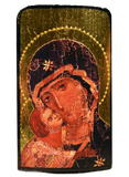 "Traveling Icon ""Our Lady of Vladimir"" - Christian Icons"