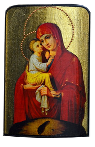 "Traveling Icon ""Pochaivska Mother of God"" - Christian Icons"