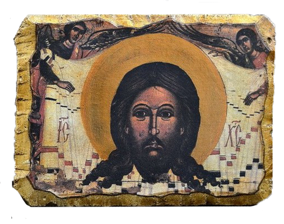"Fresco ""The Saviour Image Not Made by Hands"" - Christian Icons"