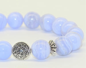 Blue Lace Agate - Inner Peace & Spiritual Growth