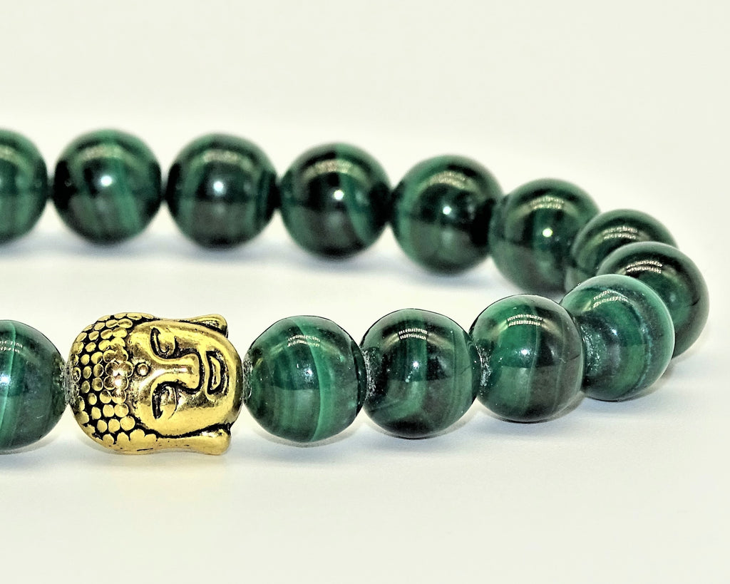 Malachite & Buddha - Transformation