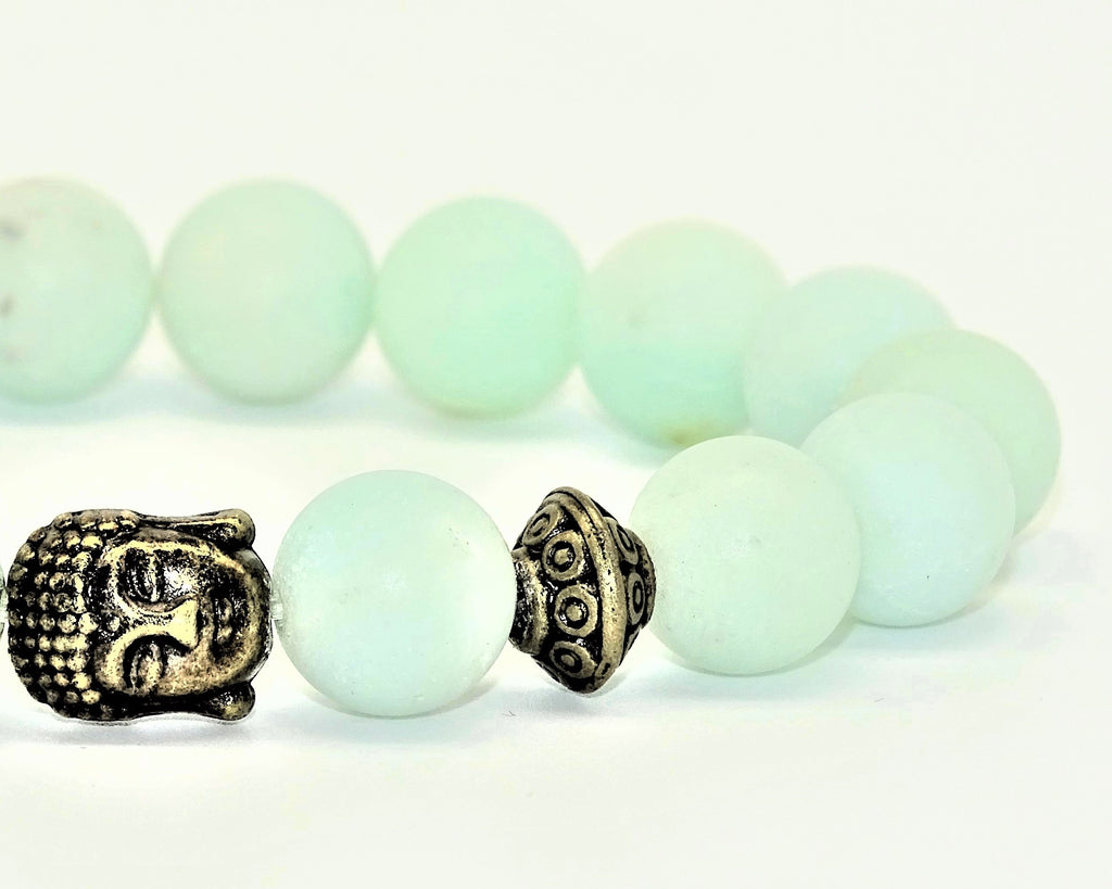 Amazonite Matte Frosted - Intuition, Creativity & Loving Communication