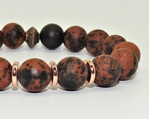 Mahogany Obsidian - Strength, Release of old patterns and Abundance