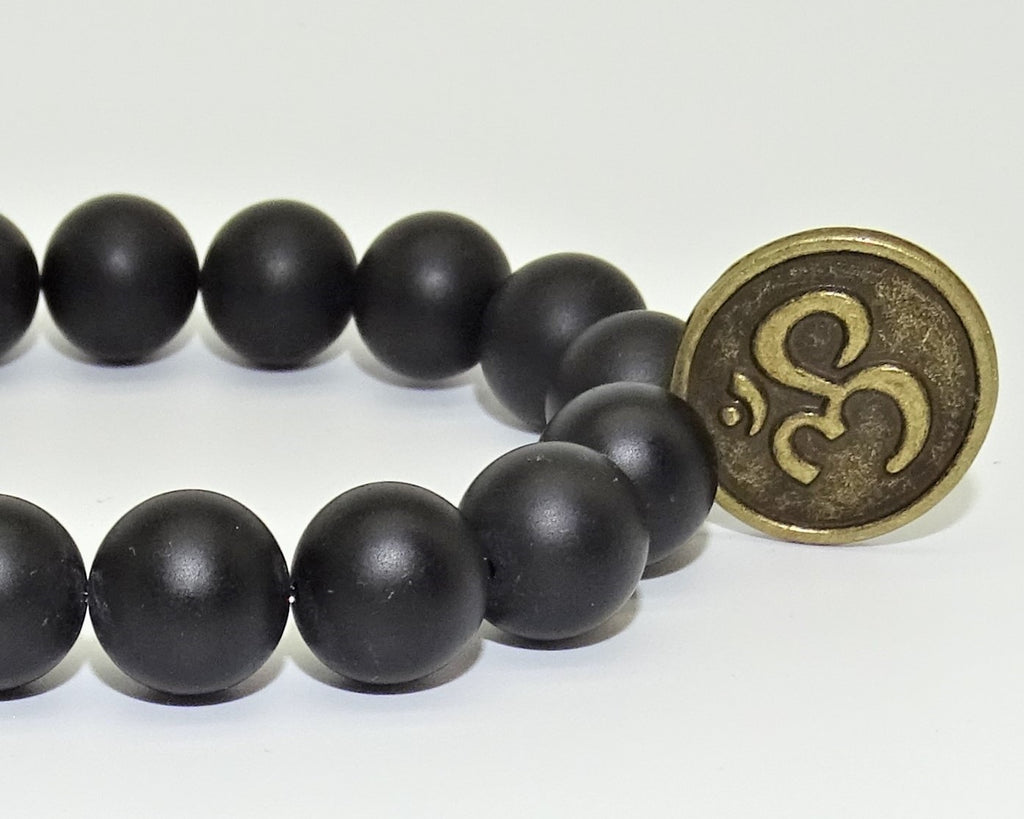 Black Onyx Om - Powerful protection, Self-Mastery and Self-Discipline