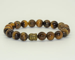 Tiger Eye, Buddha - Protection, Grounding & Personal Power