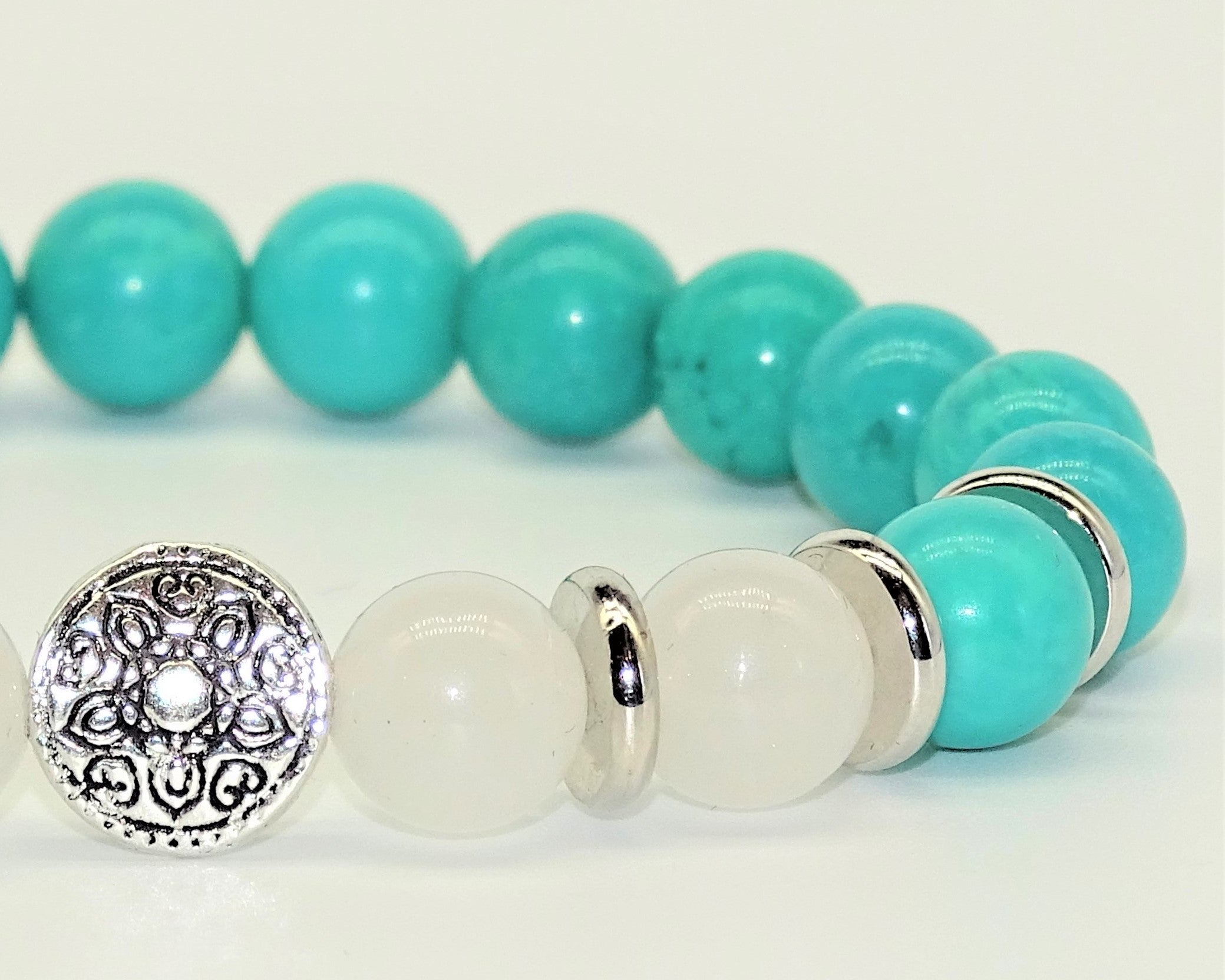 Turquoise & Clear Quartz - Master Healers, Intense & Accelerated Calming & Healing