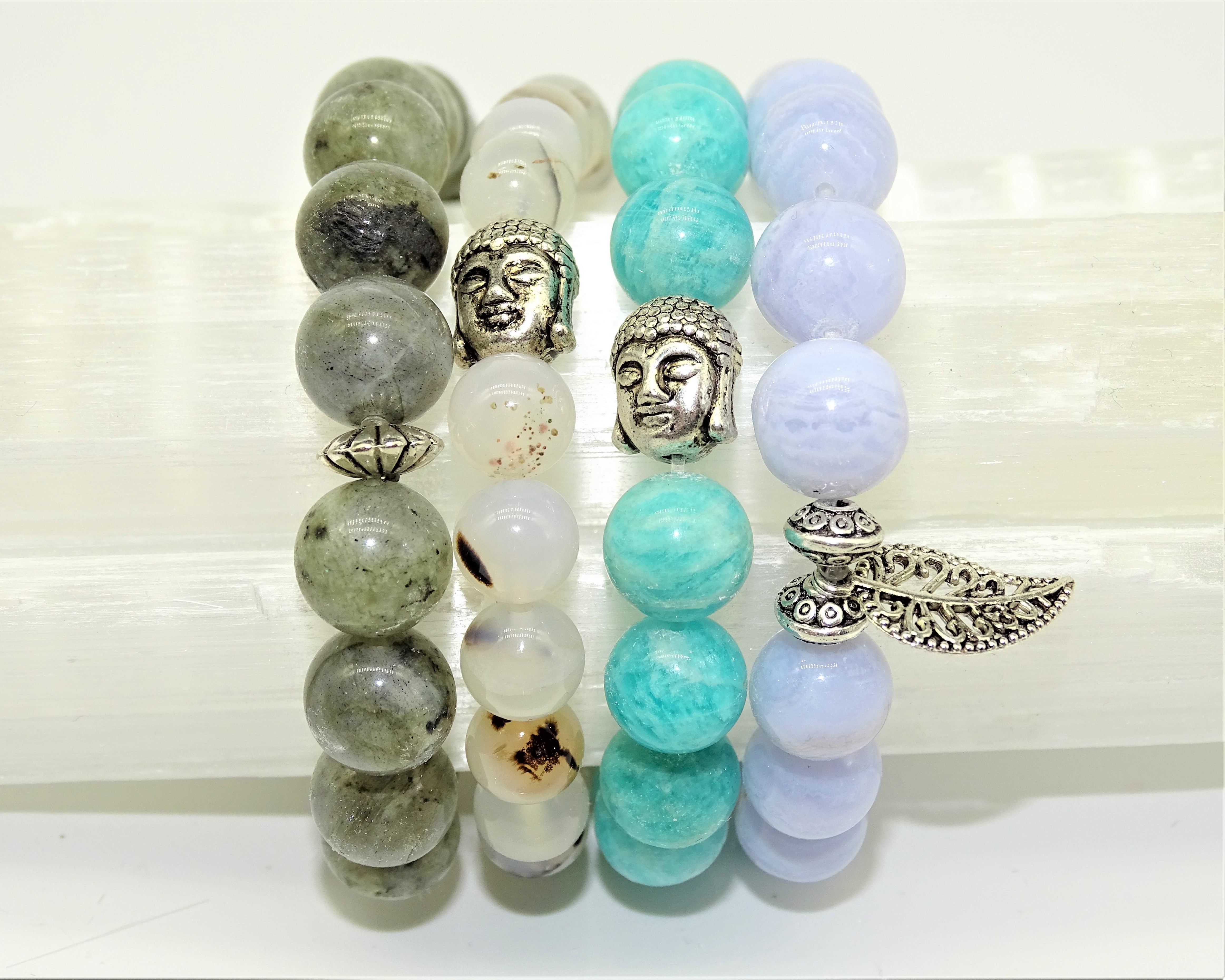 Amazonite & Buddha - Intuition, Creativity & Loving Communication