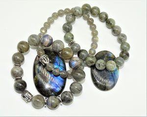 Labradorite & Buddha - Ultimate Protection, Self-Discovery & Wisdom of the Universe