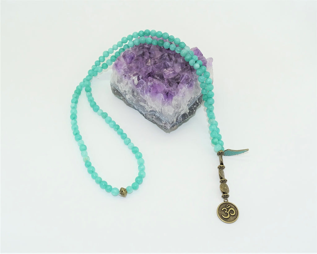 Amazonite, Om - Intuition, Creativity & Loving Communication