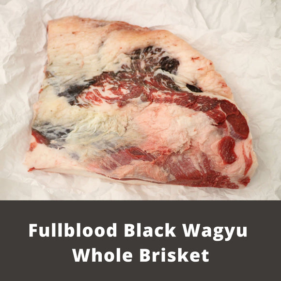 Fullblood Black Wagyu Whole Brisket | Wiens Wagyu