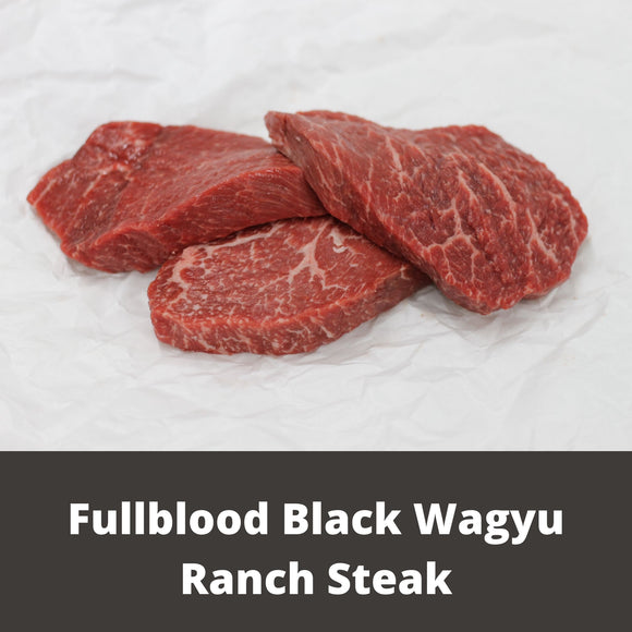 Fullblood Black Wagyu Ranch Steak | Wiens Wagyu