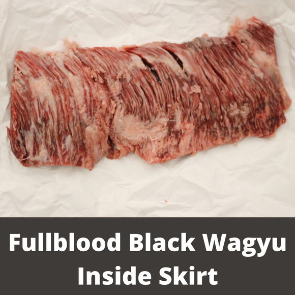 Fullblood Black Wagyu Inside Skirt | Wiens Wagyu