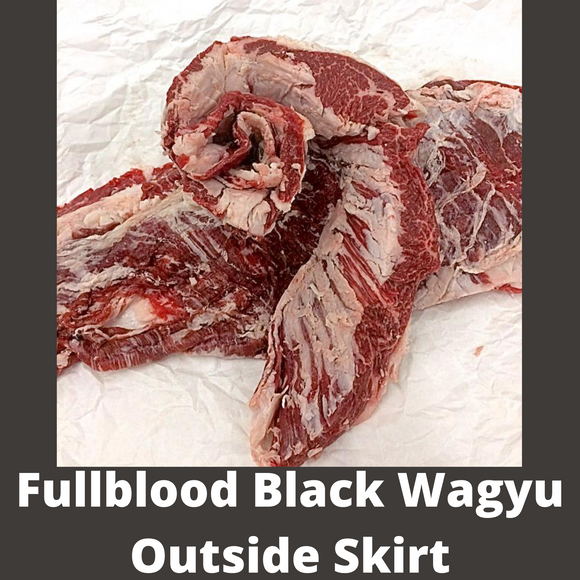 Fullblood Black Wagyu Outside Skirt | Wiens Wagyu