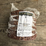 Fullblood Black Wagyu Ground Beef Patties 8 OZ - 3 lbs