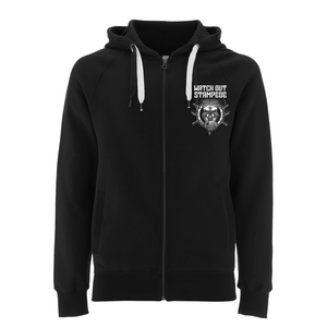 Watch Out Stampede - Captain Maik - Hooded Zipper (black) - Merchandise - Redfield Records