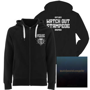 Watch Out Stampede - CD & Hooded Zipper Bundle - mbcBundle - Redfield Records