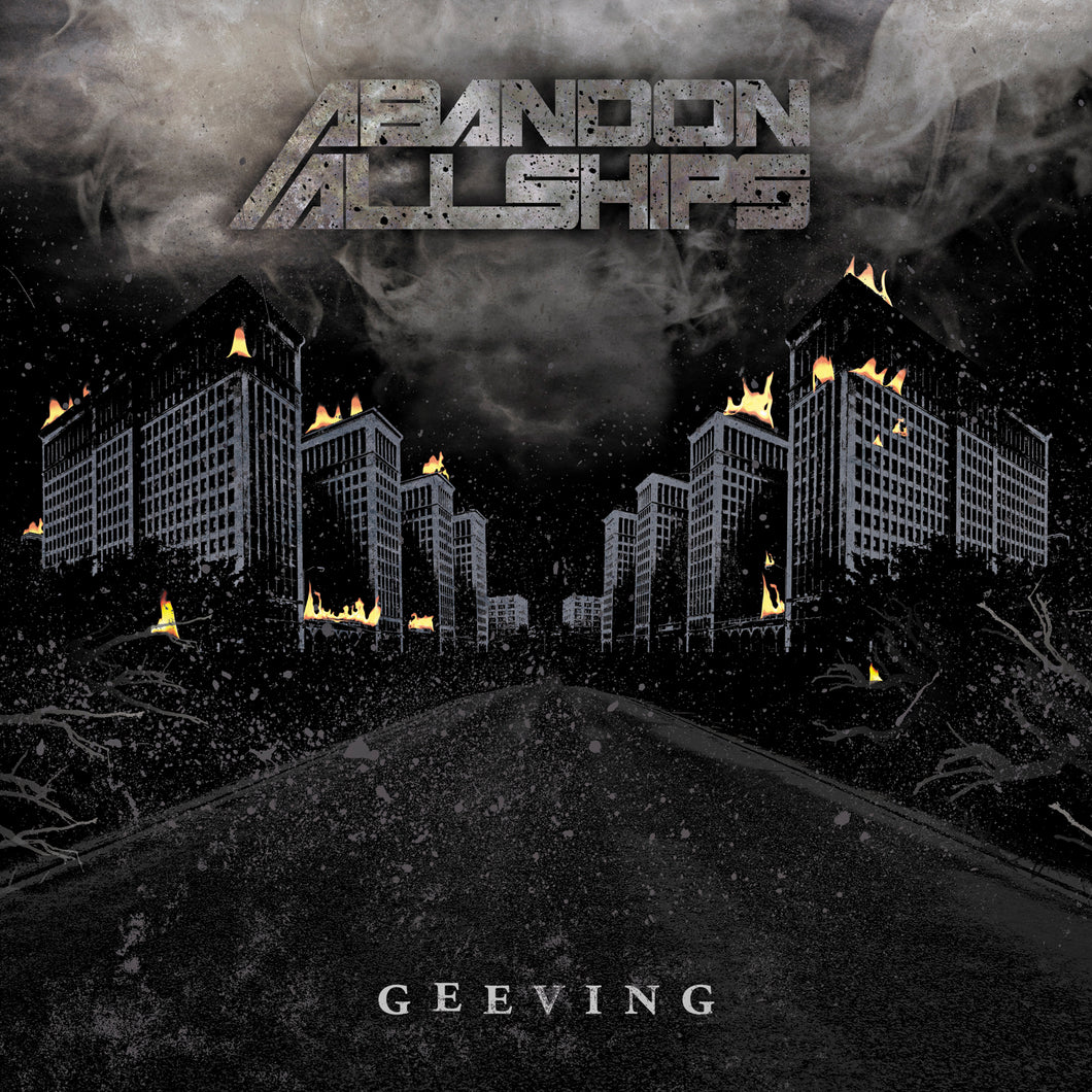 Abandon All Ships - Geeving - CD (2013) - Redfield Records