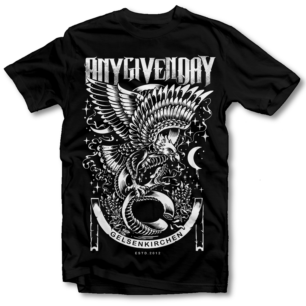 Any Given Day - Eagle - T-Shirt - Merchandise - Redfield Records