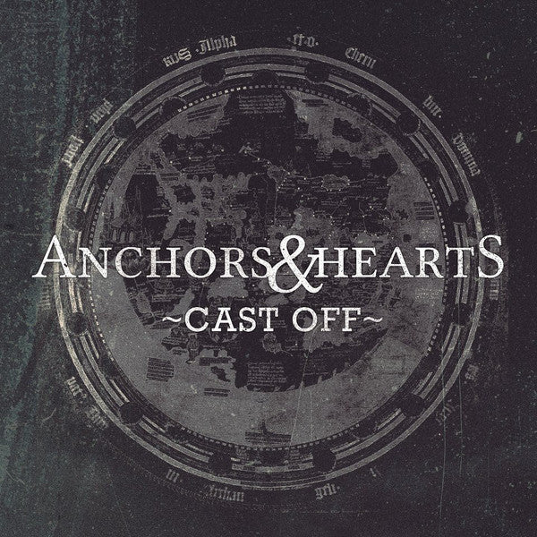 Anchors & Hearts - Cast Off - CD (2012) - Redfield Records