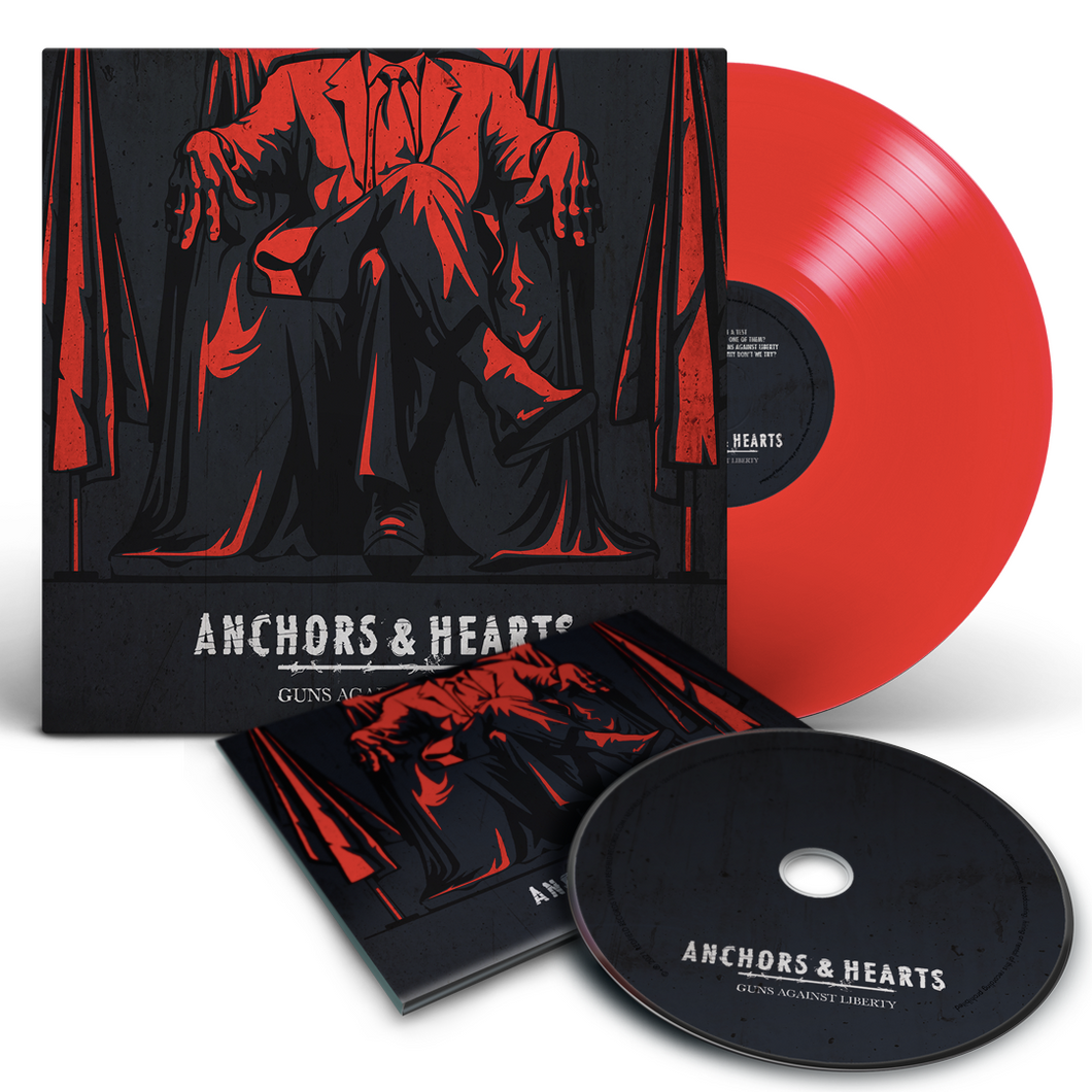 Anchors & Hearts - Guns Against Liberty - LP & CD Bundle (2021) - Redfield Records