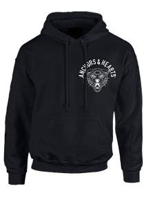 Anchors & Hearts - Wolfcat - Hoodie - Redfield Records