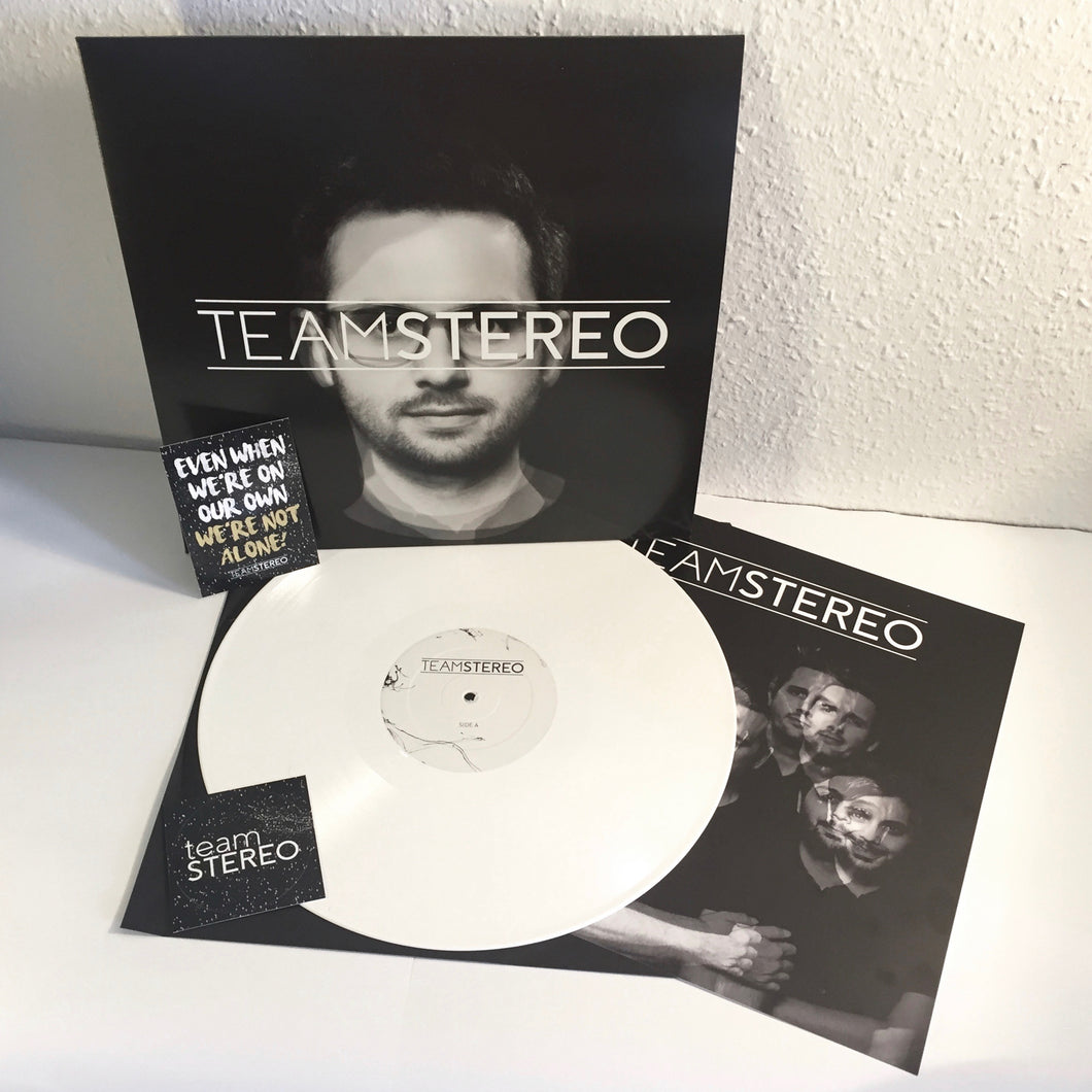 Team Stereo - s/t - White Vinyl LP (2017) - LP - Redfield Records