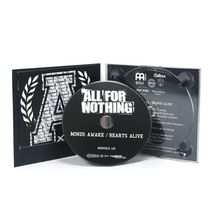 All For Nothing - Minds Awake / Hearts Alive (2017) - CD - Redfield Records