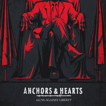 Anchors & Hearts - Guns Against Liberty - LP (2021) - Redfield Records