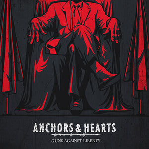 Anchors & Hearts - Guns Against Liberty - Hoodie & LP - Redfield Records