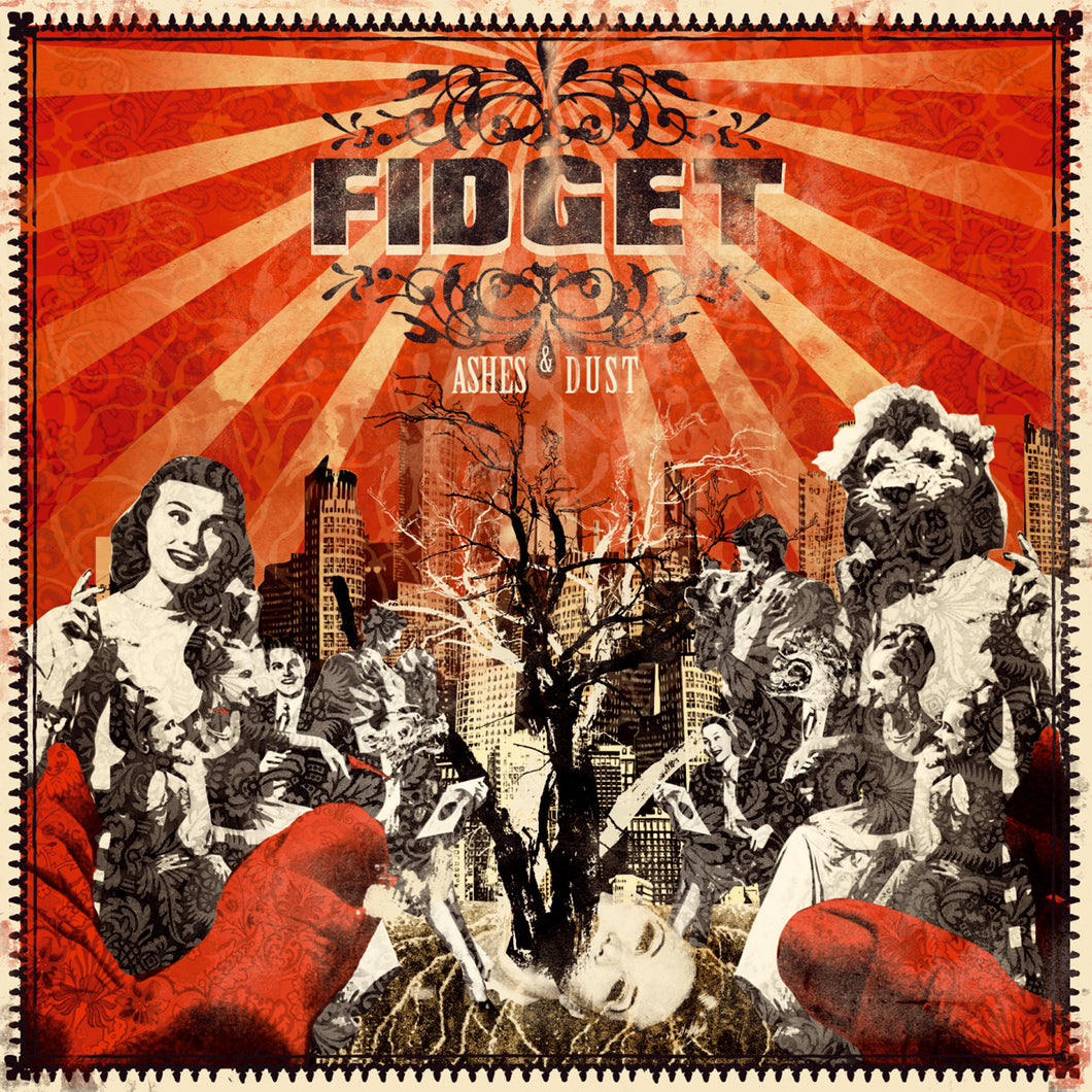 Fidget - Ashes & Dust - CD (2008) - Redfield Records