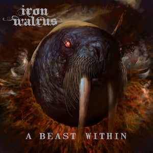Iron Walrus - A Beast Within - Black Vinyl (2017) - LP - Redfield Records
