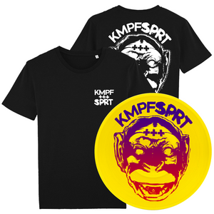 KMPFSPRT - Bundle 1 - T-Shirt & Vinyl LP - mbcBundle - Redfield Records