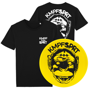 KMPFSPRT - Bundle 2 - T-Shirt & Vinyl LP - mbcBundle - Redfield Records