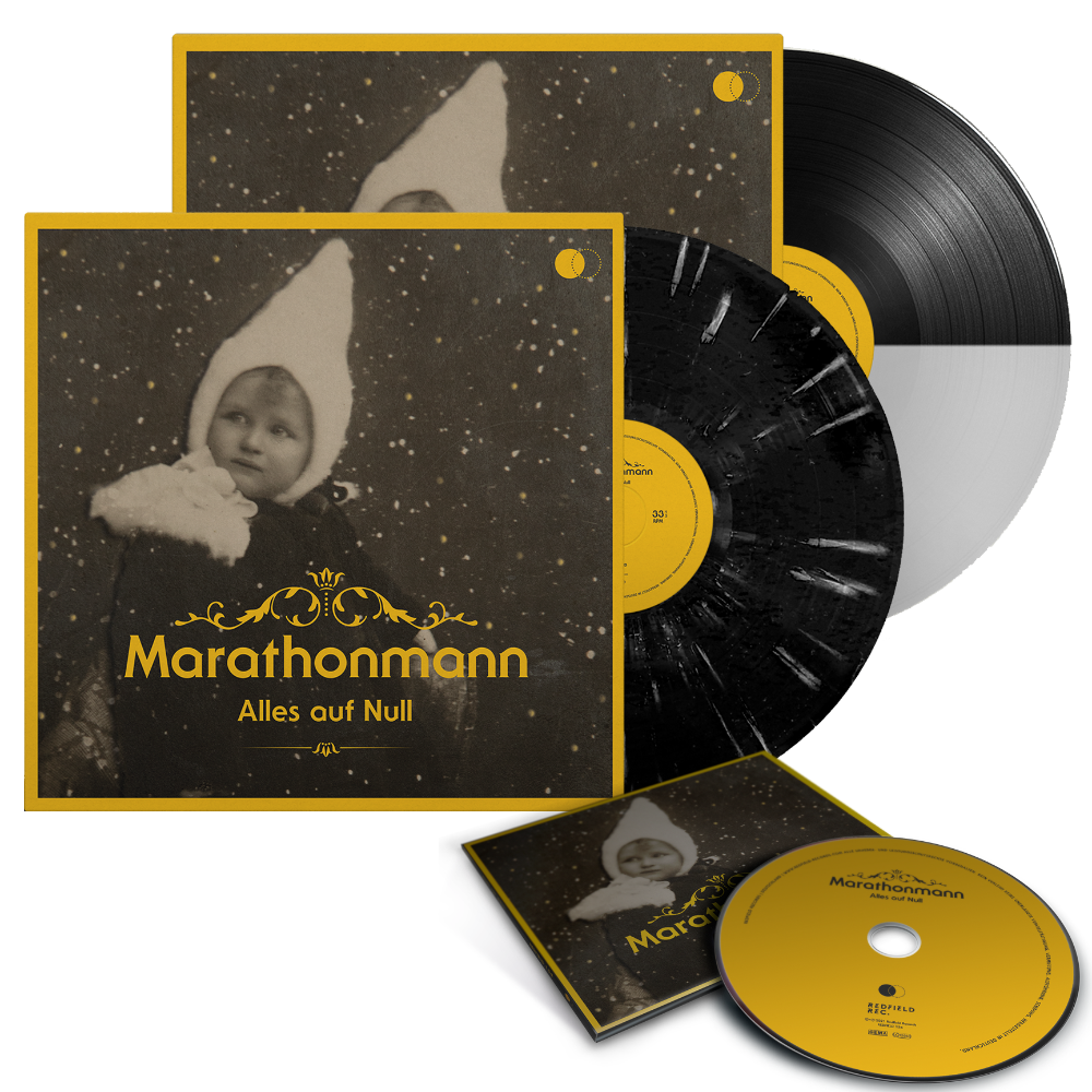 Marathonmann - Alles auf Null - Vinyl+CD Bundle (2020) - Redfield Records