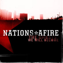 Nations Afire - The Ghosts We Will Become - Red Vinyl LP (2012) - LP - Redfield Records