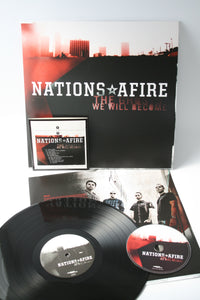 Nations Afire - The Ghosts We Will Become - Black Vinyl LP (2012) - LP - Redfield Records