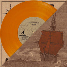 "V/A - Lower Than Atlantis, Grace.Will.Fall, Talk Radio Talk, MNMNTS Split 10"" - Orange Vinyl LP (2010) - Redfield Records"