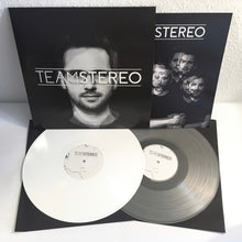 Team Stereo - s/t - White Vinyl LP (2017) - Redfield Records