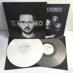 Team Stereo - s/t - Clear Vinyl LP (2017) - LP - Redfield Records