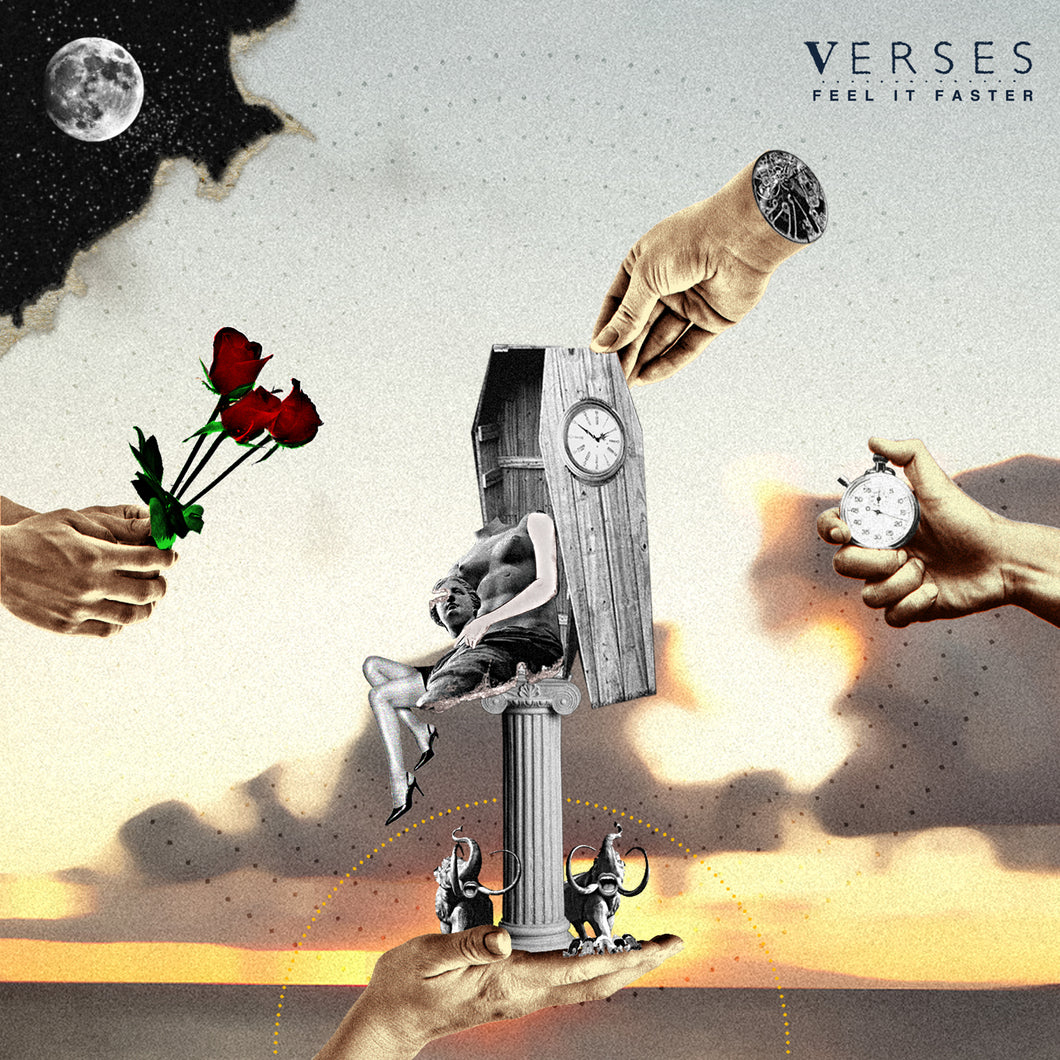 Verses - Feel It Faster - Vinyl LP (2015) - Redfield Records