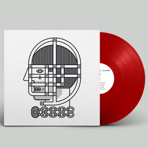 Kids Insane - Cluster - Red Vinyl LP (2017) - Redfield Records