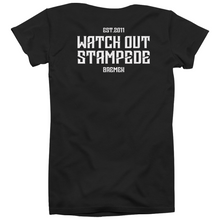 Watch Out Stampede - Captain Maik - T-Shirt (black) - Redfield Records