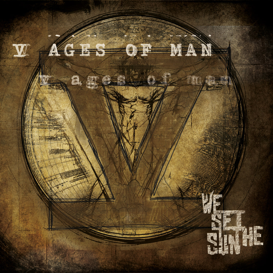 We Set The Sun - V Ages Of Man (2013) - CD - Redfield Records