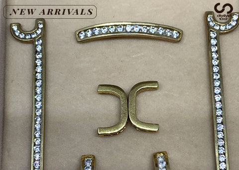 7 pc Gold Diamond Set