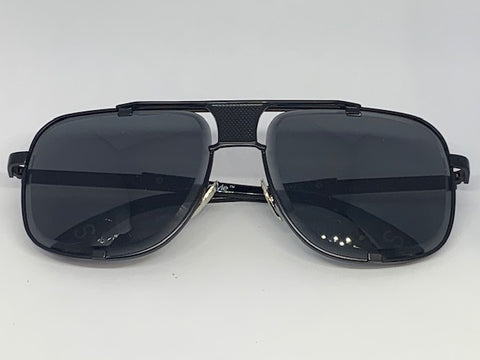 CityStyle Authentic Capital Aviators Sunglasses  w/ Midnight Black Diamond Facet Lenses