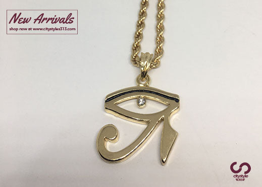 of sun wholesale product the eye horus gold hieroglyphics and egyptian symbol silver for pendant men amulet necklace god egypt jewelry women